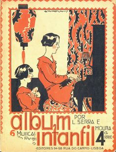 The Flapper Girl: Stuart Carvalhais, Album Infantil, 1928 - sheet ...