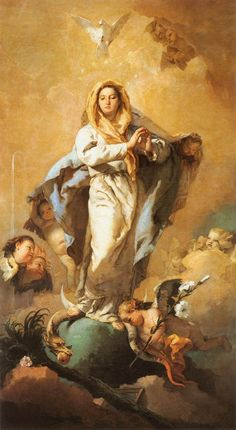 """The Catechism of the Catholic Church beautifully states the doctrine of the Immaculate Conception of Mary, that is, that Mary was herself conceived without original sin: 491 Through the centuries the Church has become ever more aware that Mary, """"full of grace"""" through God, was redeemed from the moment of her conception. That is what […]"""