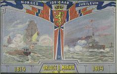 Norges 100-årsjubileum i 1914 Orlogs Marinen