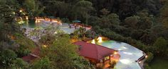 The Peace Lodge is located on the grounds of the La Paz Waterfall Gardens in…