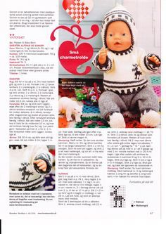 Albumarkiv - Baby Born & Build-a-Bear 3 Knitting Dolls Clothes, Knitted Dolls, Doll Clothes Patterns, Crochet Dolls, Doll Patterns, Crochet Baby, Baby Boy Knitting Patterns, Baby Knitting, Knitting Books