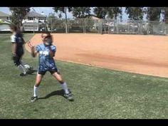 Infield Drills: Softball Relays drill: quick hands