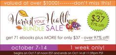 Harvest Your Health Bundle - Paleo Gone Sassy