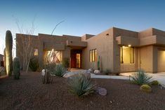 Southwest Contemporary 494 - contemporary - exterior - other metro - Soloway Designs Inc.