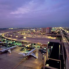 Dallas International Airport. And terminal of AA.