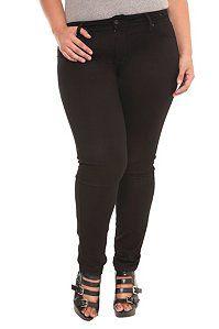 Source of Wisdom - The Luxe Black Skinny Jean (Regular)