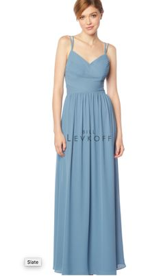 Bill Levkoff Bridesmaid Dresses, Amsale Bridesmaid, Bill Levkoff Dresses, Vintage Bridesmaid Dresses, Bridesmaid Dress Styles, Prom Dresses, Bridesmaids, Wedding Dresses, Long A Line Skirt