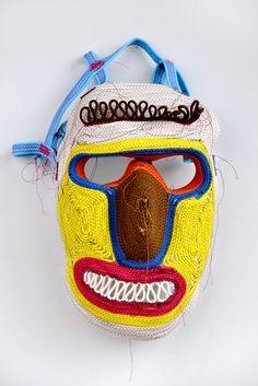 Fantastic rope mask by Bertjan Pot