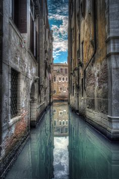 Venice ,Italy ...hmmmm...does it seem obvious the two places I would prefer to go to most?