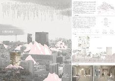 応募作品数:368点 受賞作品数:24点 主催:大東建託株式会社 Landscape Architecture Design, Japanese Architecture, Architecture Drawings, Architecture Portfolio, Concept Architecture, Architecture Diagrams, Japan Design, Architecture Presentation Board, Presentation Boards