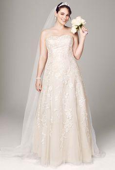 David's Bridal 9V3587