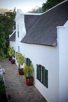 www.weddingconcepts.co.za Beautiful Cape Dutch homestead. Colonial Architecture, Classic Architecture, Architecture Design, Dutch House, My House, South African Homes, Cape Dutch, Dutch Colonial, Exterior House Colors