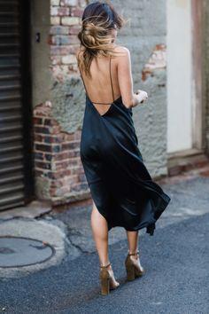 Sexiest slip dress.