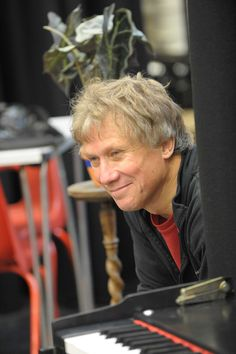 Peter Duncan in rehearsal for Charlie Peace: His Amazing Life & Astounding Legend. Credit Robert Day.