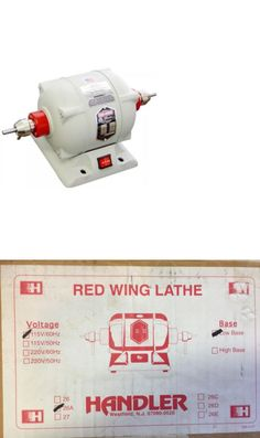 Denture Care: Handler Red Wing Lathe Model 26A BUY IT NOW ONLY: $299.0