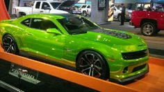 Lime green Camaro???????  SO HOT!!!!!!!!!!!!!!!!!!!!!!!!!!!!!!!!!!!!!!!!!!!!!!!!!