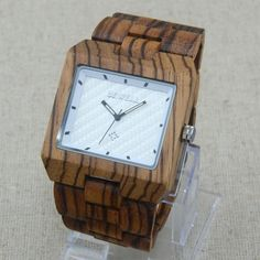 Are you excited?  OverSize Face Nat... :-) http://www.sustainthefuture.us/products/oversize-face-natural-bamboo-sandalwood-african-zebra-wood-men-bracelet-dress-watch-gift-box?utm_campaign=social_autopilot&utm_source=pin&utm_medium=pin