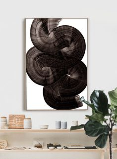 Large Abstract Painting Black and White Art large wall art Modern Art Prints, Modern Wall Art, Contemporary Paintings, Black And White Wall Art, Black And White Abstract, Large Art, Large Wall Art, Fireplace Art, Seascape Paintings