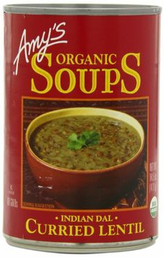 Amy's Organic Indian Dal Curried Lentil Soup, 14.5-Ounce Cans (Pack of 12) - http://goodvibeorganics.com/amys-organic-indian-dal-curried-lentil-soup-14-5-ounce-cans-pack-of-12/