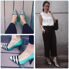 #lalaloveshoes #cullotespants Otra opción de llevar estampados en nuestro outfit es llevarlos en nuestros accesorios; esta vez decidí llevar estos lindos #stiletto que me encantan #lalalove