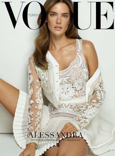 Alessandra Ambrosio for Vogue Turkey - March 2015