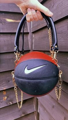 Shop our unique and hand crafted Basketball bags, American Football handbags and more. Mini Basketball, Basketball Shoes Kobe, Basketball Outfits, Basketball Quotes, Lela Rose, Luxury Purses, Luxury Bags, Fashion Bags, Fashion Accessories