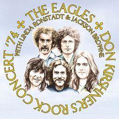 The Eagles With Linda Ronstadt & Jackson Browne Don Kirshner's - Rock Concert '74 180g Vinyl LP