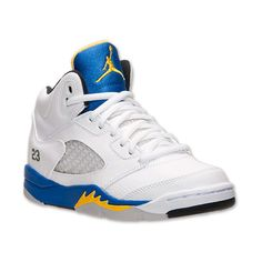 1a3499c871c3 Boys  Preschool Air Jordan 5 Retro Basketball Shoes ( 75) ❤ liked on  Polyvore