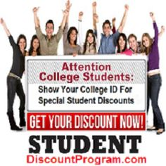 We have recently added more money saving offers to the website and currently calling local businesses to invite them to partner with our program. Check it out! College Student Discounts, College Campus, College Students, Check It Out, Invite, Saving Money, Business, Save My Money