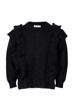 Jr Fino Ruffle Sweater