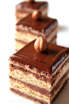 Hazelnut Opera Cake ☆MïăÅņňã☆》