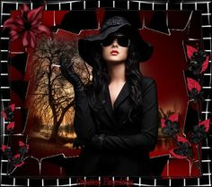 Woman In Black Photo:  This Photo was uploaded by jade95_2010. Find other Woman In Black pictures and photos or upload your own with Photobucket free ima...