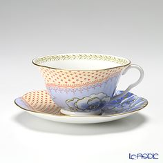 Wedgwood butterfly Bloom tea cup and saucer