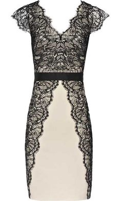 Reiss Black Lace Dress