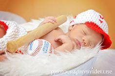 Baseball Theme Newborn Session