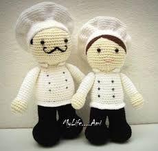 Resultado de imagen para manualidades muñecas cocineras
