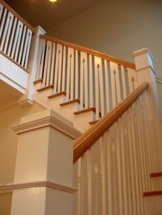 Arts and crafts style staircase