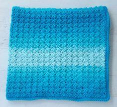 Learn the crochet sedge stitch with this easy crochet baby afghan pattern! Baby Afghan Crochet Patterns, Crochet Baby, Easy Crochet, Free Crochet, Crochet Afghans, Crochet Stitches, Tunisian Crochet, Crochet Owls, Crochet Blocks