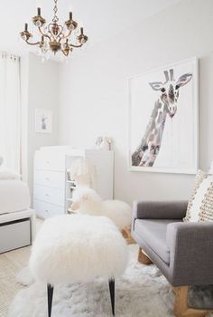 Chic Baby Room: 20 Extremely Lovely Neutral Nursery Room Decor Ideas That