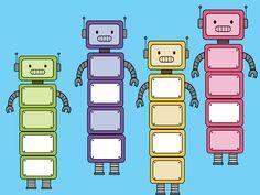 Build your own robot by PrwtoKoudouni Create Your Own Robot, Number Bonds, Fact Families, Classroom Language, Create Words, Numeracy, Teacher Pay Teachers, Teacher Newsletter, Kindergarten
