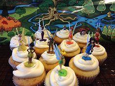 Disney Fairies Tinkerbell Deluxe Mini Figure Set Cake Toppers / Cupcake Party Favor Decorations Set of 12 Disney http://www.amazon.com/dp/B00NE6ZSH2/ref=cm_sw_r_pi_dp_QJfRub0PGSM21