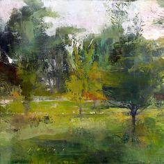 Douglas Fryer - Garden at Twighlight