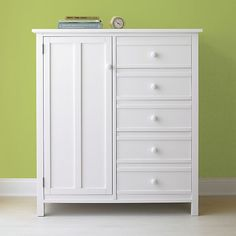 Brighton White Wardrobe In Dressers U0026 Chests | Crate And Barrel For Bedroom  $999