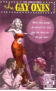 Gay pulp (interesting dress she's wearing)