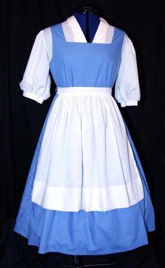 ADULT Blue BELLE Blue Provincial Costume CUSTOM Size