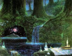 Sacred Forest, by Gilbert Williams.