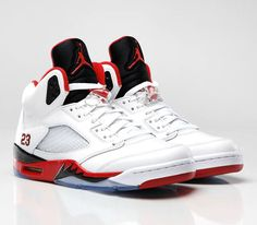Air Jordan's .  I always wanted a pair.  I remember these coming out when I was in middle school.