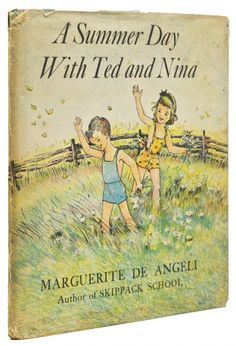 Book. First edition. Illustrated in color by the author. 1 vols. 8vo. Blue pictorial boards. Spine ends a little rubbed, several images hand-colored by a child, bookplate. A good sound copy in very good dust jacket. Item #43355 #books #art #summer #nature
