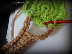 Niftynnifer's Crochet & Crafts: Free Crochet Pattern ~Tree Motif Embellishment