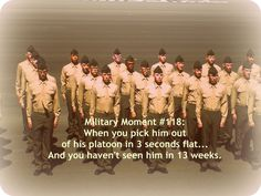 hahaaha i soooo did that <3 that day was amazing. I saw him lean out of formation looking for me and we found each other. Then they said go find your airman but don't run. Do you think I listened no I ran and grabbed him. ;))) best moment ever.